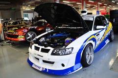 Coche de la desviación de Holden GTO en la desviación 2010 de la fórmula Fotos de archivo