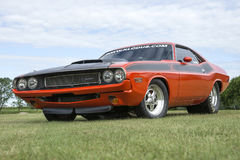 Coche de la fricción del desafiador de Dodge Imagen de archivo