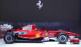 Coche de la fórmula 1 de Ferrari Fotos de archivo