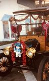 Coche de la Navidad fotografía de archivo libre de regalías