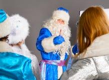 Coche de la Navidad Foto de archivo