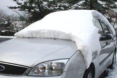 Coche de la nieve Foto de archivo