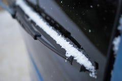 Coche de la nieve ligera Imágenes de archivo libres de regalías