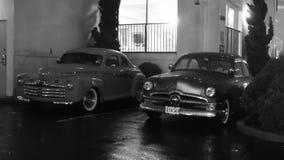 Coche de la obra clásica de 1950 Ford Fotos de archivo libres de regalías