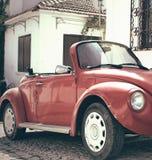 Coche de la obra clásica del escarabajo Foto de archivo libre de regalías