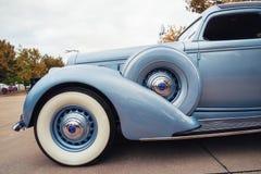 Coche 1936 de la obra clásica de Lincoln Model K Imagen de archivo libre de regalías