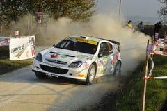 Coche de la reunión de Citroen Xsara WRC Fotos de archivo libres de regalías