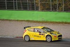 Coche de la reunión de Ford Fiesta en Monza Foto de archivo