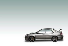 Coche de la reunión de la plata 4WD imagen de archivo libre de regalías