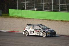 Coche de la reunión de Peugeot 207 en Monza Fotografía de archivo libre de regalías