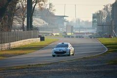 Coche de la reunión de Peugeot 207 en Monza Foto de archivo