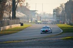 Coche de la reunión de Peugeot 207 en Monza Fotografía de archivo