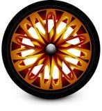 Coche de la rueda Imagen de archivo