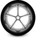 Coche de la rueda Fotografía de archivo libre de regalías