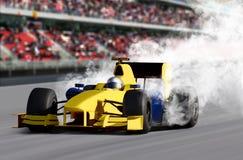 Coche de la velocidad del Fórmula 1 Fotografía de archivo libre de regalías
