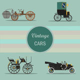 Coche de la vendimia libre illustration