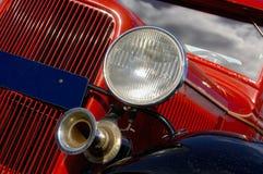 coche de la vendimia de los años 50 Imágenes de archivo libres de regalías