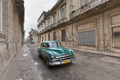 Coche de la vendimia, La Habana Foto de archivo libre de regalías