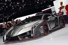 Lamborghini Veneno LP750-4 - salón del automóvil 2013 de Ginebra Imagen de archivo libre de regalías