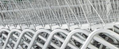 Coche de las compras Imagen de archivo