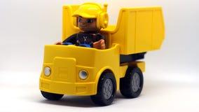 Coche de Lego fotografía de archivo