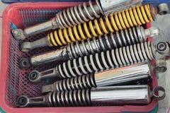 Coche de los amortiguadores de choque Foto de archivo libre de regalías