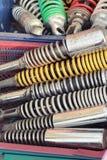 Coche de los amortiguadores de choque Foto de archivo