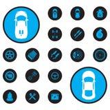 coche de los iconos Imagen de archivo