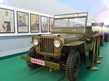 Coche de los willys del jeep Fotografía de archivo libre de regalías