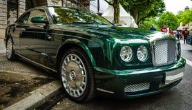 Coche de lujo del mismo tamaño Bentley Brooklands, 2008 Imagen de archivo libre de regalías
