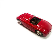 Coche de lujo rojo Fotos de archivo libres de regalías