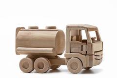 Coche de madera con la cisterna Imagen de archivo libre de regalías