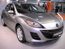 Coche de Mazda en la demostración de coche de Belgrado Fotos de archivo