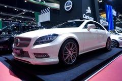 Coche de Mercedes-Benz en el salón del automóvil de Bangkok Fotos de archivo