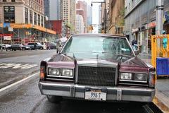 Coche de Nueva York Fotografía de archivo libre de regalías