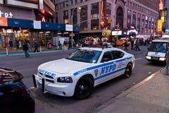 Coche de NYPD Imagen de archivo