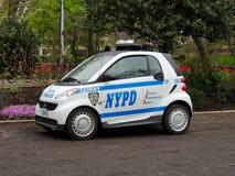 Coche de NYPD Smart Imagen de archivo