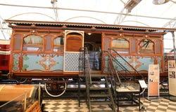 Coche de pasajero ferroviario del imperio otomano Foto de archivo libre de regalías
