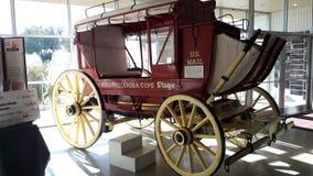 Coche de Pony Express Fotografía de archivo