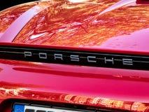 Coche de Porsche fotos de archivo libres de regalías