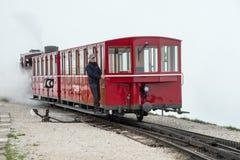 Coche de Schafbergbahn Foto de archivo libre de regalías