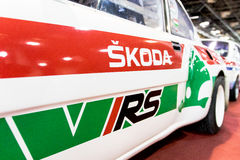 Coche de Skoda VRS Foto de archivo