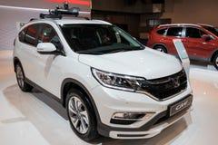 Coche de SUV de la cruce del acuerdo de Honda CR-V Foto de archivo libre de regalías