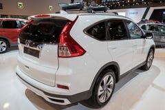 Coche de SUV de la cruce del acuerdo de Honda CR-V Fotografía de archivo