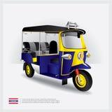 Coche de Tailandia Tuk Tuk Foto de archivo libre de regalías
