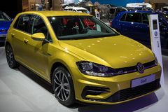 Coche de Volkswagen Golf imagen de archivo libre de regalías