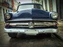 Coche del americano de la calle del vintage Habana Imagen de archivo
