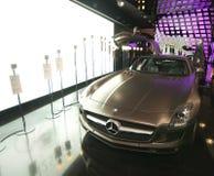 Coche del Benz SLS AMG de Mercedes Imágenes de archivo libres de regalías