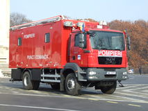 Coche del bombero Imágenes de archivo libres de regalías