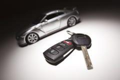 Coche del clave y de deportes del coche imágenes de archivo libres de regalías